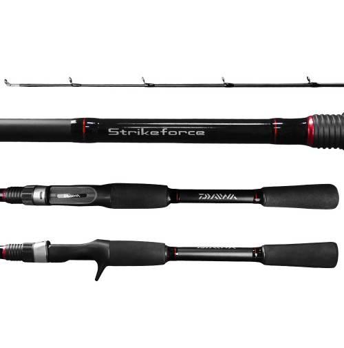 Vara Daiwa Strikeforce 6'0(1,83m) 8-17lbs Carretilha 2 partes