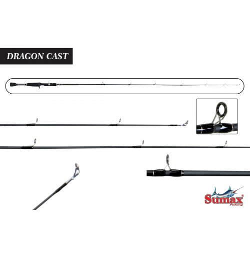 Vara Sumax Dragon Cast 5'6(1,68m) 8-14lbs