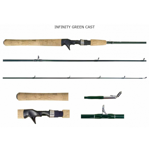 Vara Lumis Infinity Cast Green 5'6(1,68m) 5-14Lbs Inteira