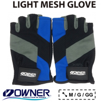 Luva Owner Light Mesh Glove 9654 - Azul